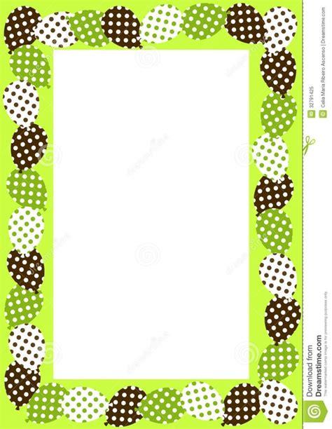 free polka dot border templates free microsoft word