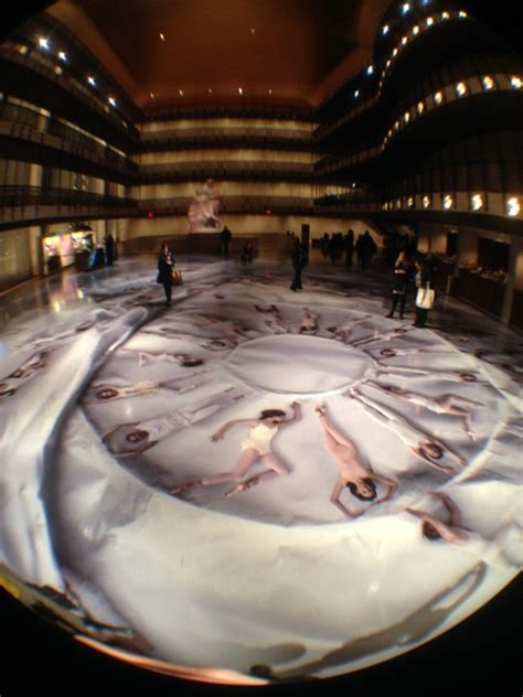 lincoln center nyc ballet check out this beautiful installation by jr at the nyc