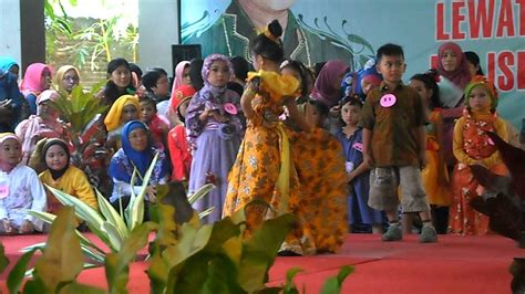 Batik Fashion Show Anak lomba fashion show batik anak hari kartini