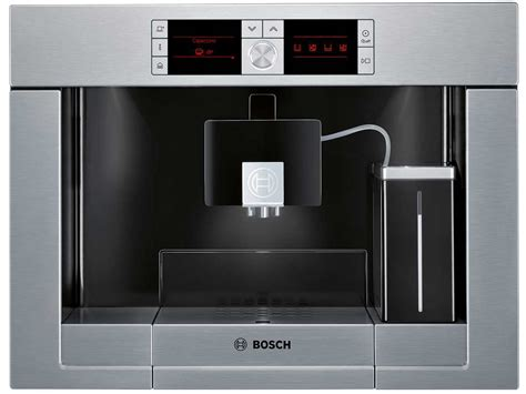 einbau kaffeevollautomat mit festwasseranschluss bosch tcc78k751 einbau espresso kaffeevollautomat