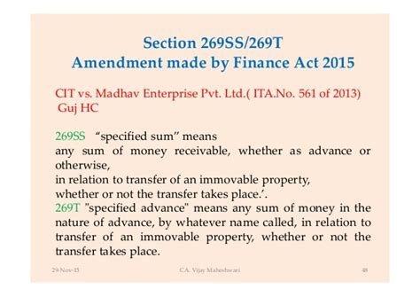 section 49 1 of income tax act income tax on real estate transactions