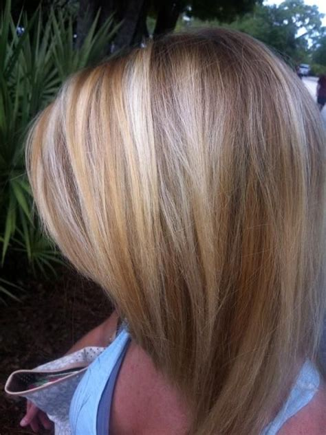blonde and lowlights for medium straight hair must see top 15 hairstyles and haircuts blonde with