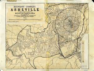 carolina map asheville maps