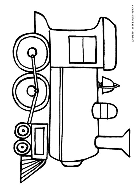 coloring page train engine train color page transportation coloring pages color