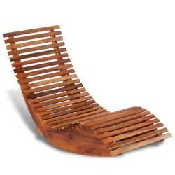 la boutique en ligne chaise longue 224 bascule en bois