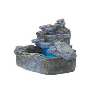 garten zierbrunnen beleuchteter gartenbrunnen springbrunnen zierbrunnen