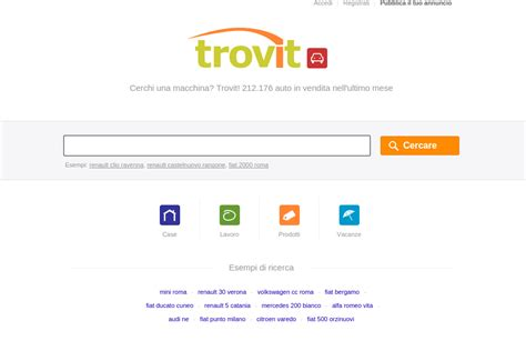 www trovit it auto usate