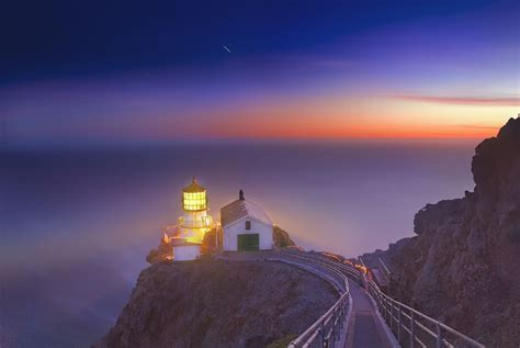 Point Reyes Light House by At Point Reyes Lighthouse 169 Harold Davis Harold