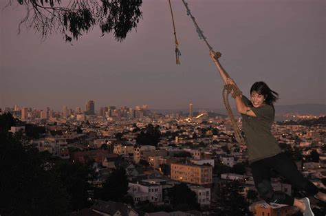 rope swing san francisco billy goat hill s petrifying rope swing uptown almanac