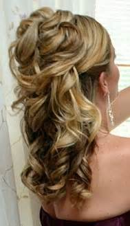 prom hairstyles half up half down for medium hair Page 2 images