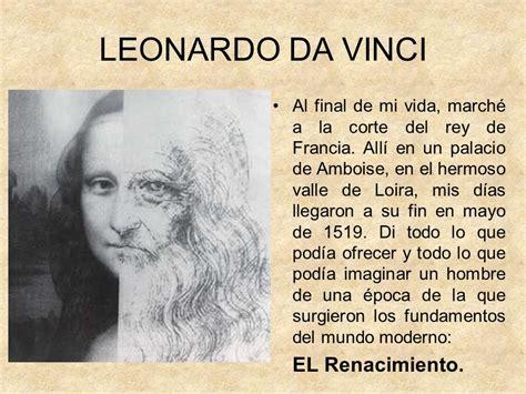 Warehouse Job Resume Skills by Leonardo Da Vinci Resumen De Su Vida Y Obra 28 Images