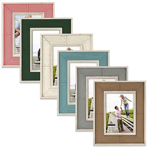 bed bath and beyond picture frames malden 174 coastal collection weathered picture frames bed
