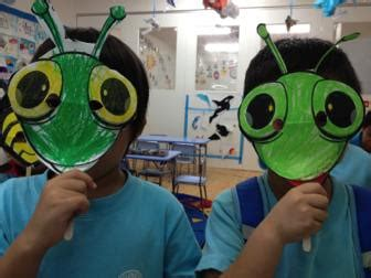 insect and bug masks craft