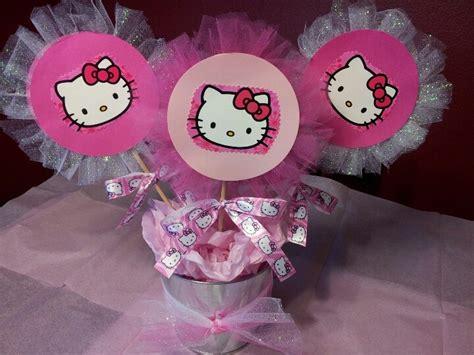 Hello Kitty Centerpieces Www Imgkid Com The Image Kid Hello Centerpiece
