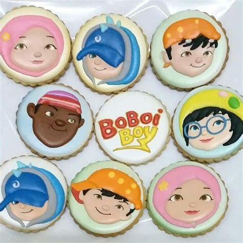 Topper Cupcake Boboiboy 249 best images about fancy cookies by me on fancy cookies sugar cookies and