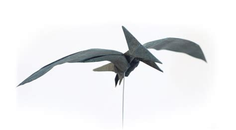 Pterodactyl Origami - the origami forum view topic tadashi mori