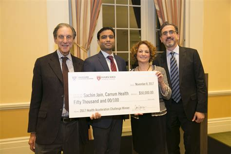 Inventiv Health Mba Harvard by Carrum Health Wins Harvard Business School And Harvard
