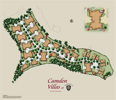 Epcon Canterbury Floor Plan homes camden villas