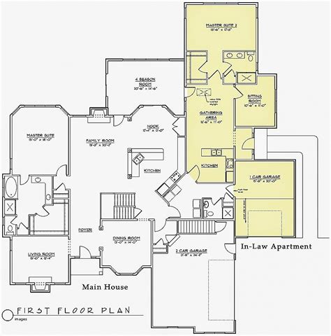 house plans with inlaw apartment