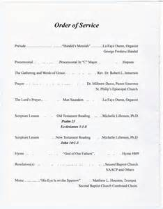 Church Order Of Service Program Template by Funeral Program For Benjamin Norris Sles Sequence 2
