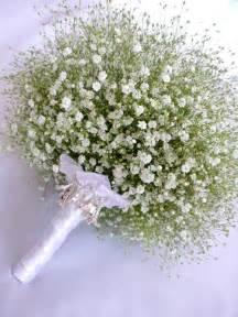 baby s breath bouquets babys breath bridal bouquet wedding blossoms