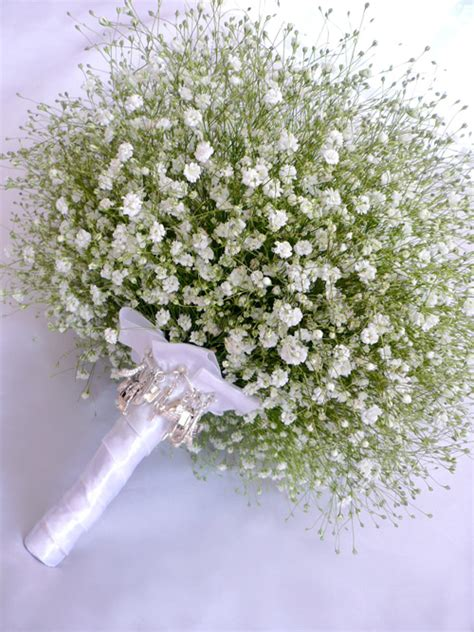 Wedding Bouquet Baby S Breath by Babys Breath Bridal Bouquet Wedding Blossoms