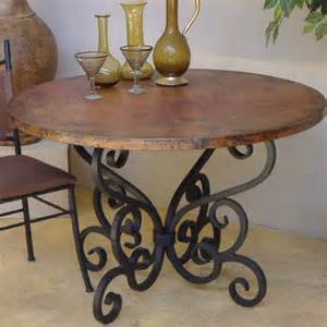 Rustic Wrought Iron Table Ls Wrought Iron Dining Table Base Would Look Great