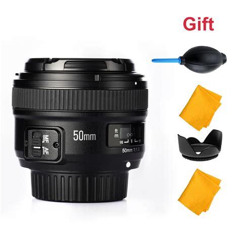 Lensa Yongnuo 50mm F1 8 For Nikon Auto Focus Diskon yongnuo yn50mm f1 8 1 1 8 standard prime lens auto manual focus af mf lens for nikon 50mm f1 8