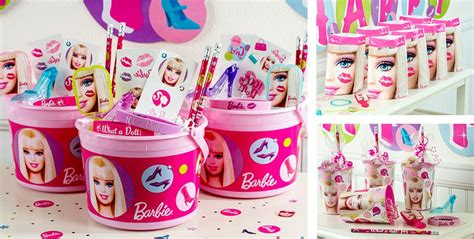 Barbie Giveaways For Birthday - barbie party favors stickers bracelets stationery more party city canada