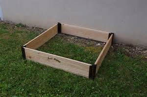 construire un carr 233 potager durable en bois