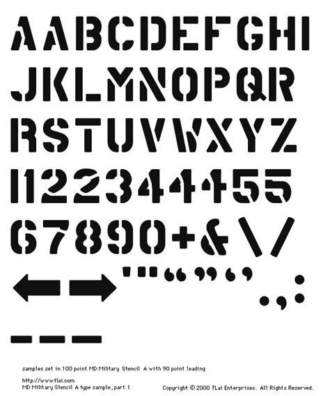 printable army font 1101 best stencil fonts images on pinterest stencil font