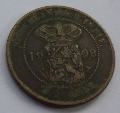 Koin 1897 Benggol Nederlandsch Iklan C301 antikpraveda 14 pcs 2 5 cent nederlandsch