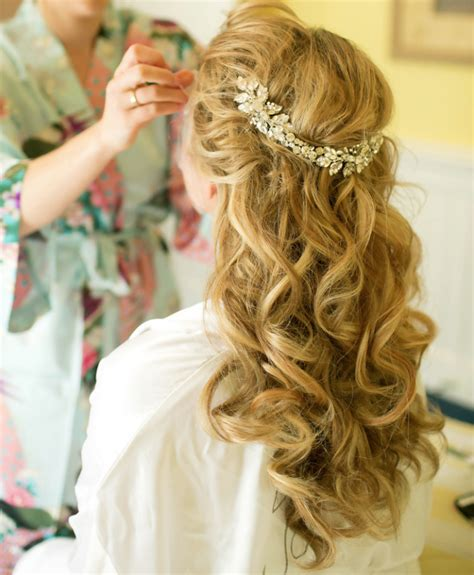 Vintage Wedding Hair Half Up by Wedding Hairstyles Half Up Half Vintage Hairstyle