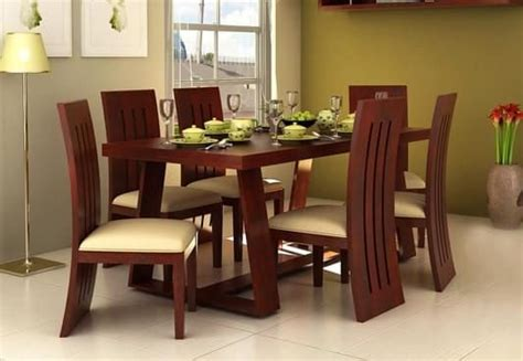dining table design india 6 seater dining table six seater dining table set