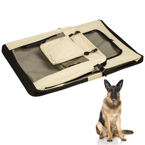 gabbia per cani aereo borsa per box gabbia pieghevole auto trasportino da