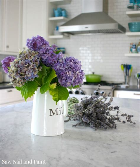 Flower Kitchen by Home Tour Saw Nail And Paint