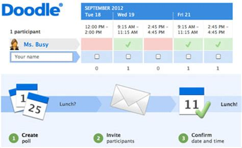 doodle poll rsvp useful tools milne library news and events