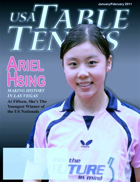 table tennis magazine usa table tennis magazine may issue
