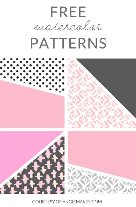 watercolor pattern photoshop free free watercolor patterns courtesy of angie makes