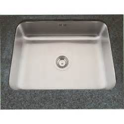 Sterling Kitchen Sinks Sterling Just Single Bowl 560mm X 407mm Brushed Steel Undermount Kitchen Sink Us1824b Sterling
