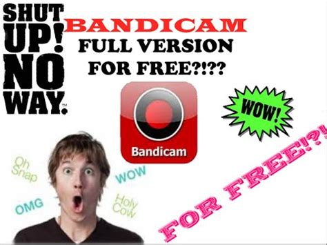 bandicam full version no watermark tutorial how to get full version of bandicam for free