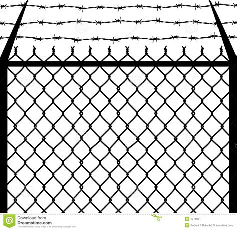 Drawingmesh M by Chain Barbed Stock Image Image 1076891