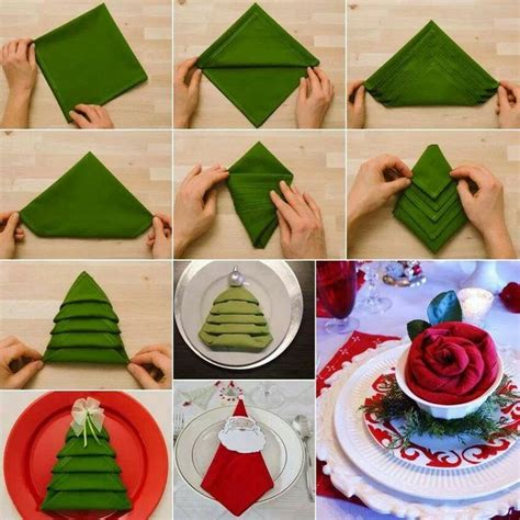 nifty napkins look like christmas trees a house is a