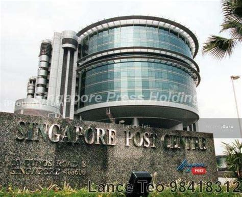 Singpost Address Finder Singapore Post Centre 10 Eunos Road 8 408600 Singapore Office For Rent