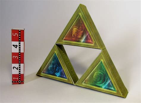 Triforce Papercraft - legend of papercrafts on papercrafters deviantart
