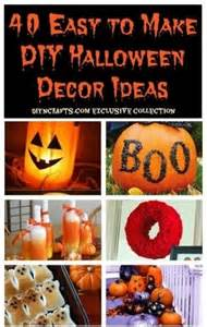 Home Decor Thrift Store by 40 Easy To Make Diy Halloween Decor Ideas