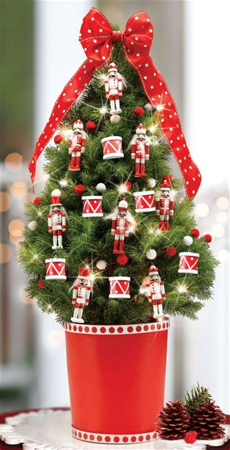 nutcracker decorated tree deck the halls pinterest