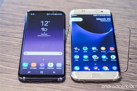 Samsung S8 Edge samsung galaxy s8 vs galaxy s7 edge should you upgrade