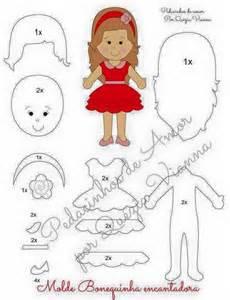 felt dress up doll template 1000 ideas about felt doll patterns on felt