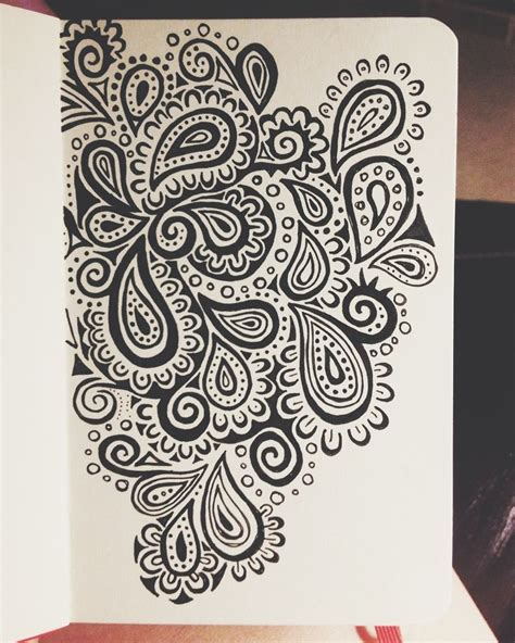 doodle pattern pinterest 25 best ideas about paisley drawing on pinterest